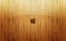 Apple Wooden Glass
