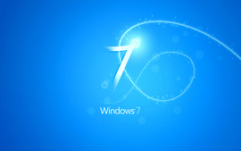 Blue Windows 7