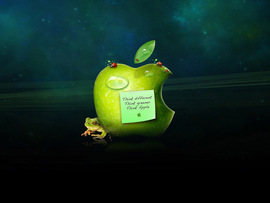 Green Apple Different