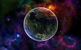 Colorful Space Universe