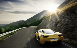 Ferrari 458 Italia Supercar Wallpapers