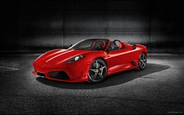 Ferrari Scuderia Spider 16m Desktop Wallpaper