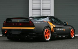 Honda Nsx By John Danby Racing