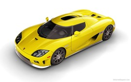 Koenigsegg Ccx Yellow