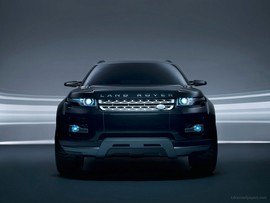 Land Rover Lrx Concept Black Wallpaper