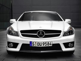 Mercedes Benz Sl63 Amg Convertible Wallpaper