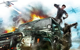 2010 Just Cause 2 Game