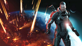 Commander Shepard In Mass Effect