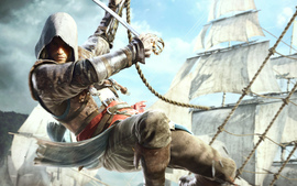 Edward Kenway In Assassins Creed