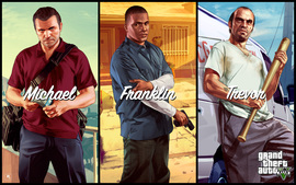 Michael Franklin Trevor In Gta