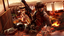 Tom Clancys Rainbow Six Vegas Wallpaper