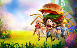 2013 Movie Cloudy With A Chance Of Meatballs