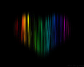 Atomic Colorful Love
