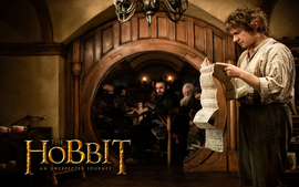 Bilbo Baggins In The Hobbit 2012