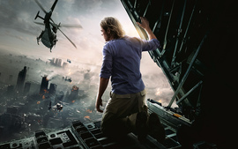 Brad Pitt World War Z Movie