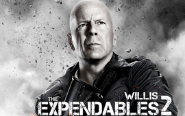 Bruce Willis In Expendables