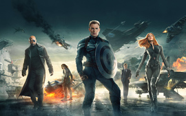 Captain America The Winter Soldier 2014 Wallpaper