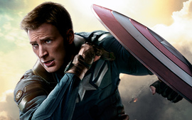 Chris Evans Captain America Winter Soldier