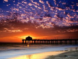 Colorful Sky Manhattan Beach