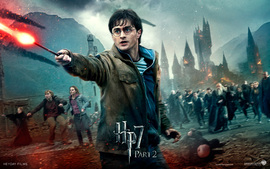 Daniel Radcliffe In Deathly Hallows Part