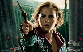 Emma Watson In Harry Potter And The Deathly Hallows Part