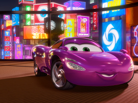 Holley Shiftwell In Cars 2 Movie