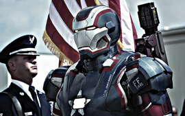 Iron Patriot In Iron Man
