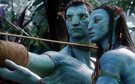 Jake Sully Neytiri In Avatar