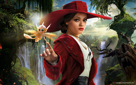 Mila Kunis Oz The Great And Powerful