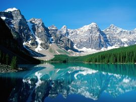 Moraine Lake Valley Of Ten Peaks