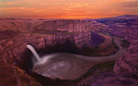 Palouse Falls Washington Usa