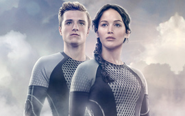 Peeta Katniss The Hunger Games Catching Fire