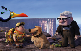 Russell Dug Carl Fredricksen In Pixars Up