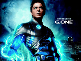 Shahrukh Khan In Ra One