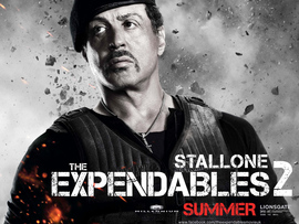 Sylvester Stallone In Expendables
