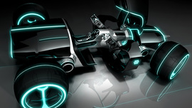 Tron Legacy Light Car