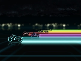 Tron Legacy Lightcycle Race