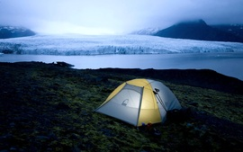 Camping In Iceland National Park