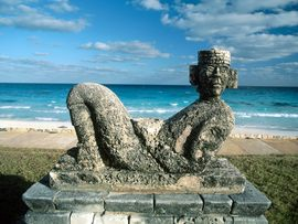 Chac Mool Cancn Mexico