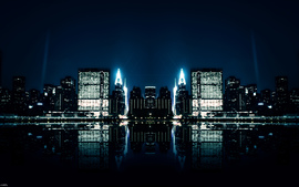 City Night Reflections