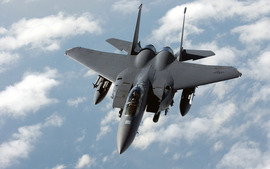 F 15e Strike Eagle Role Fighter