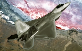 F22 Raptor Fly Over