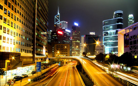 Hong Kong City NightsWide