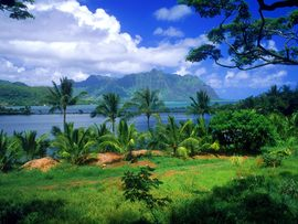 Kaneohe Fish Pond Hawaii