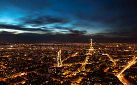 Paris Night Sky