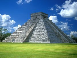 Pyramid Of Kukulkn Chichen Itza Mexico