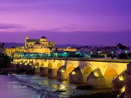 Roman Bridge Guadalquivir River Spain