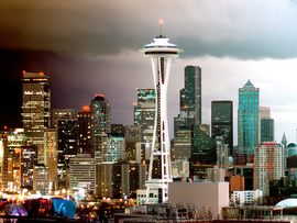 Seattle Skyline Washington