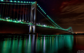 The Golden Gate Bridge Night View