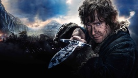 Bilbo Baggins in The Battle of the Five Armies